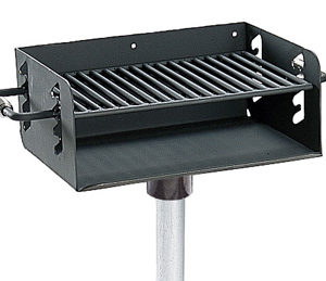 Rotating Pedestal Charcoal Grill