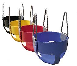 Tot Full Bucket Rubber Seat with Insert