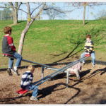 4 Seat See Saw