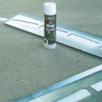 3 Point Reusable Steel Court Stencil