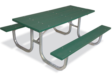 Traditional Extra Heavy-Duty Rectangular Table