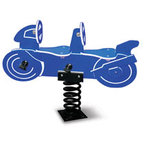 Double Seat Motorcycle Spring Rider
