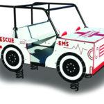Large Ambulance Spring Rider
