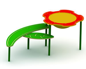 Single-Bowl Flower Sand and Water Table