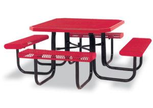 Heavy Duty Square Picnic Table