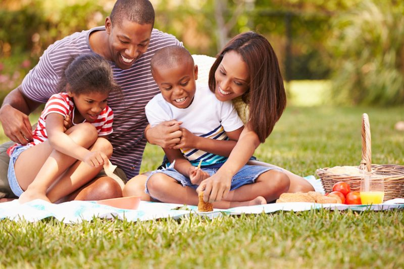Planning a Family Picnic at a Park